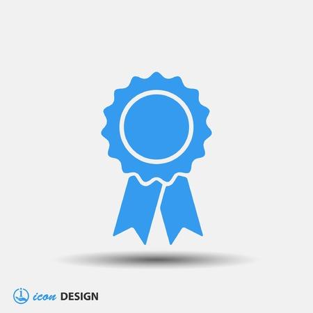 reconocimientos: Pictograma de la adjudicación Vectores