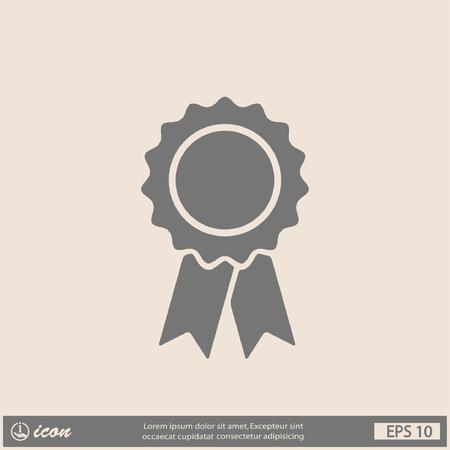 quality guarantee: Pictograph of award