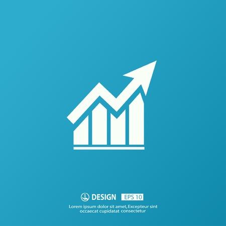 crecimiento: Pictograma de la gráfica Vectores