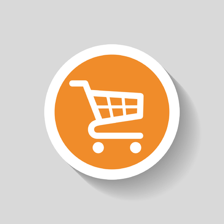 add: Pictograph of shopping cart Illustration