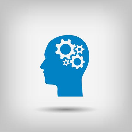 aprendizaje: Pictograma de artes en la cabeza