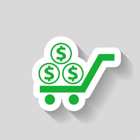 pictograph: Pictograph of money