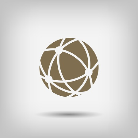 pictograph: Pictograph of globe Illustration