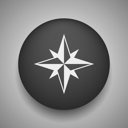compass rose: Pictograph of compass