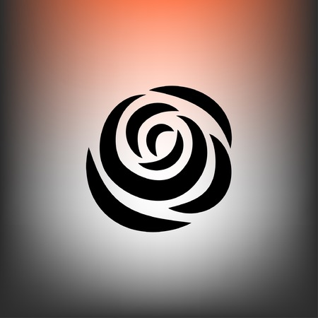 rose: Pictograph of rose