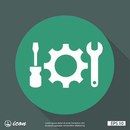 gearwheel: Pictograph of gear