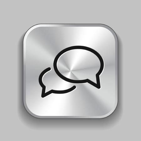 Pittogramma di messaggio o chat Vettoriali