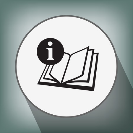 Pictograph of book