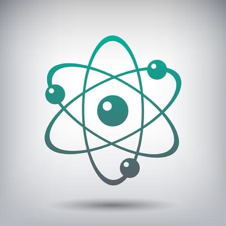 Pittogramma di atomo Archivio Fotografico - 51170797