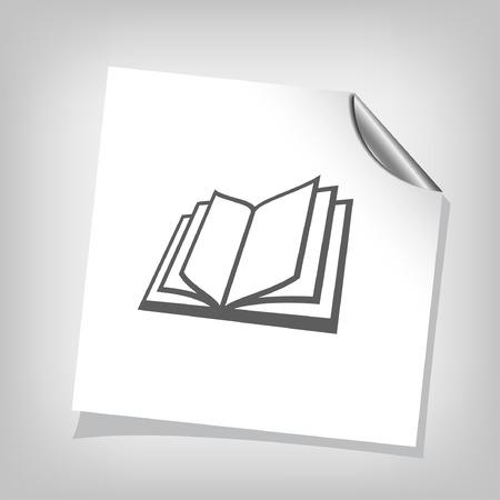 book concept: Pictograph of book