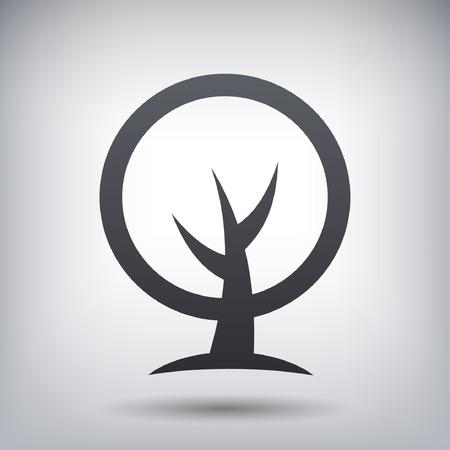 Pictograph des Baumes