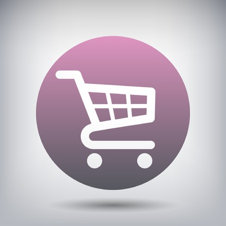 cart: Pictograph of shopping cart Illustration