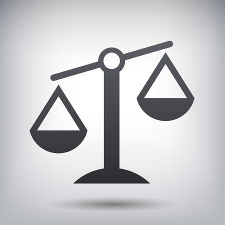 Piktogram skal sprawiedliwości