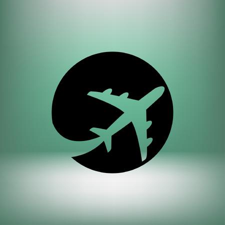 Pictograma del avión.