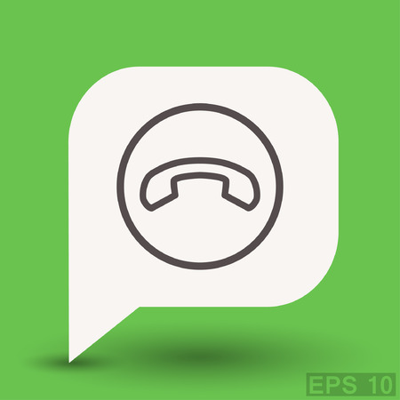 phone: Pictograph of phone