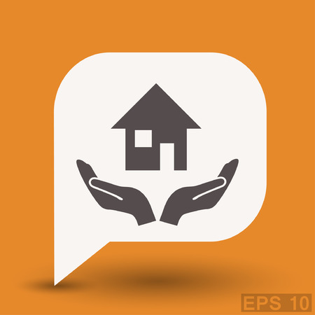 pictograph: Pictograph of home.