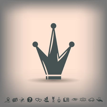Pictograph of crown