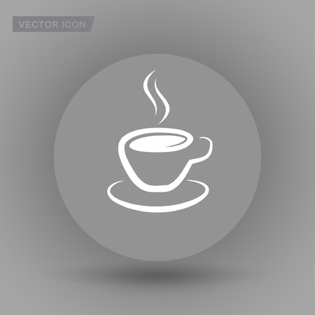 Pictograph of cup Illustration