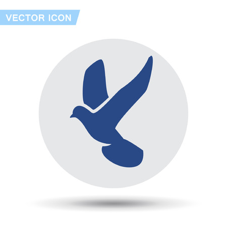 Pictograph of bird