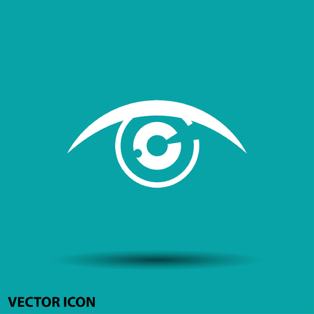 Pictograph of eye Illustration