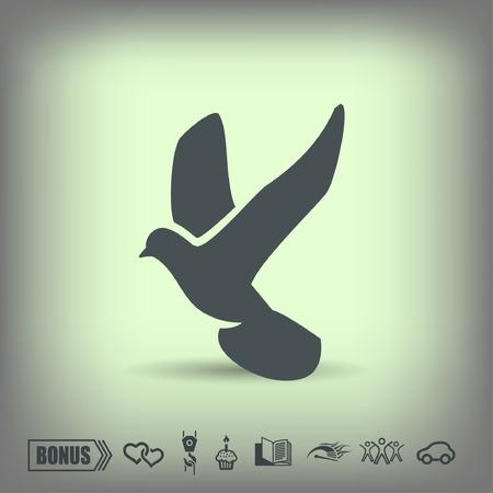Pictogramme d'oiseau