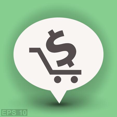 money: Pictograph of money