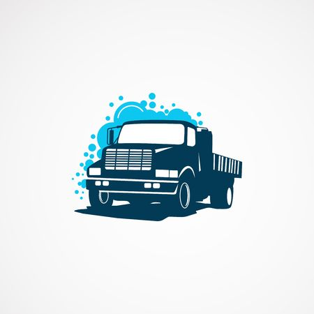 truck wash logo template designs for company