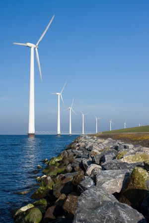 wind turbine: Green Energy Stock Photo