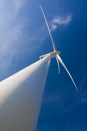 wind mill: Green Energy Stock Photo