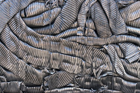 A bale of compressed aluminum coils Stock Photo - 4552676