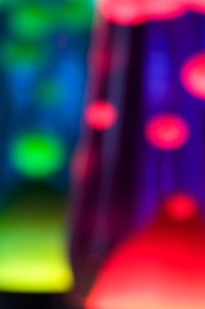era: Abstract effect with 2 lava lamps