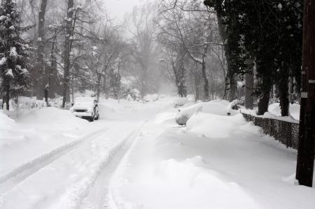 squall: February 2010, record blizzard in the Washington DC area