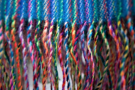 fringes: Colorful background with fringes