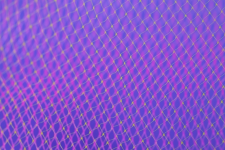 Abstract background effect made with colorful nets photo