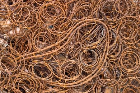 scrap metal: Ferroso riciclaggio rottami metallici