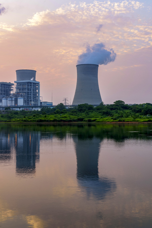 Cooling tower of nuclear power plant