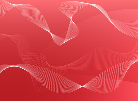 Red pink abstract vector background Vector