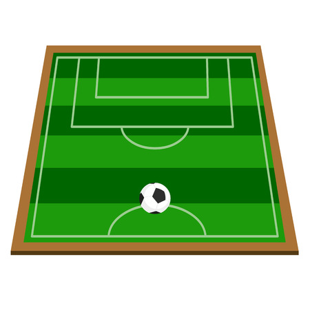 top view of soccer field or football field vector illustration rh 123rf com football field clipart vector football field vector free download