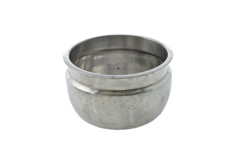 metal bowl photo