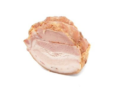 Meat product isolation on white background Stock Photo - 9829055