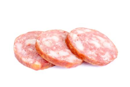 Sausage isolated on white background  Stock Photo - 9301882
