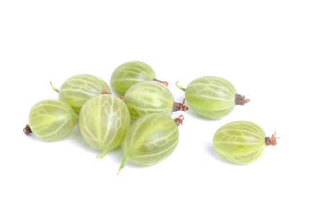 gooseberry: Gooseberry isolation  on a white background