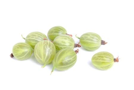 Gooseberry isolation  on a white background