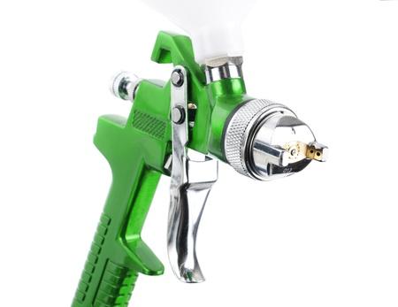 Spray gun isolated over white background Stock Photo - 10674059