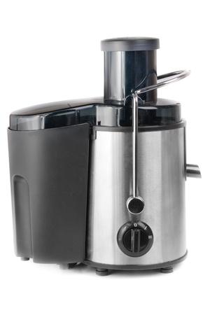 juice extractor isolated on white background photo