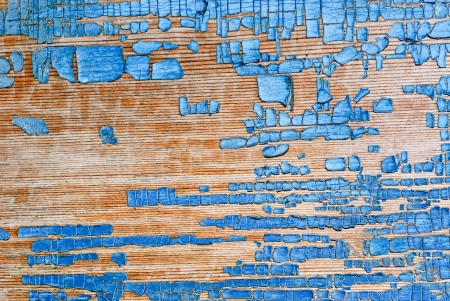 Old painted wood panel background Stock Photo