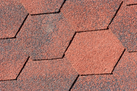 Seamless pattern of shingles roof  photo
