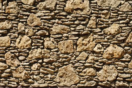 coquina: Coquina background. Grunge fossil limestone texture. Stock Photo