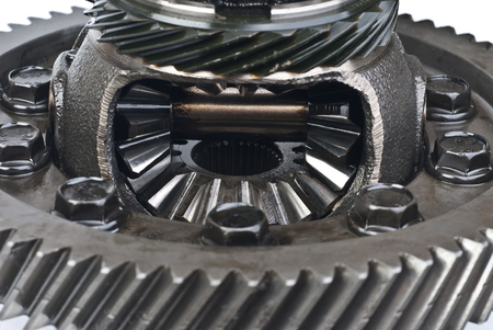 differential:  differential gear macro Stock Photo
