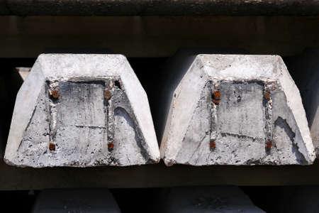 sleepers: Concrete railway sleepers